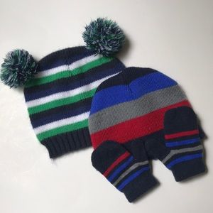 Other - Striped Hats and Gloves